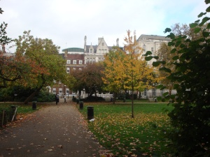 Lincoln's Inn Fields October 2015