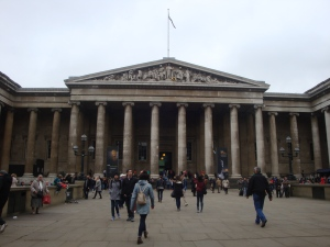 The British Museum October 2015