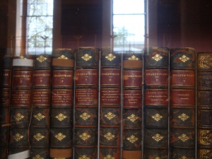 Old Volumes of Shakespeare's Work British Museum, October 2015