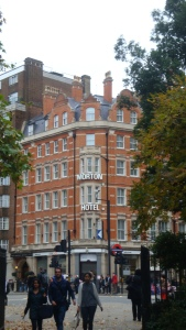 The Morton Hotel on Russell Square October 2015