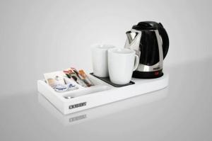 British hotel tea service