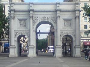 Marble Arch near Hyde Park