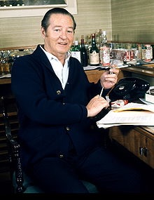 The playwright--Terence Rattigan
