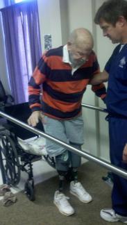 Dad on Prosthetics